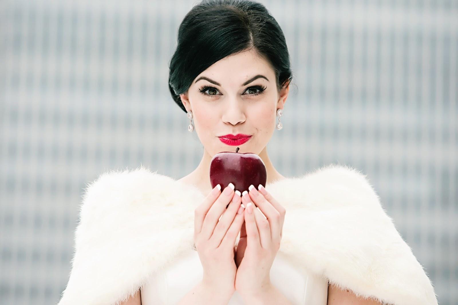 Gallery For > Winter Wonderland Wedding Makeup